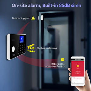 Image 4 - Towode Alarm System Kit G34 GSM WIFI 4G Tuya Wireless Security Home With Camera Motion Detector Remote Control Siren 433mhz