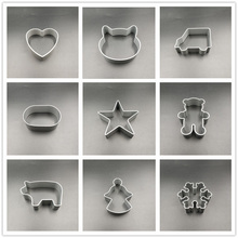 Cookie-Cutter Kitchen-Tools Cake Baking Lovely-Shape Cute DIY 1-Piece Aluminum-Alloy-Mold