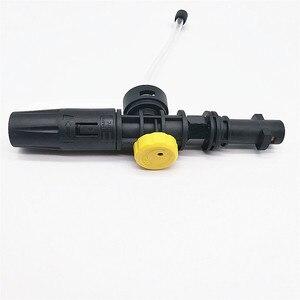 Image 3 - Laleyenda 750Ml Druk Auto Wasmachine Sneeuw Schuim Water Lance Gun Voor Karcher K2 K3 K4 K5 K6 K7 Zeep foamer Generator Spuitmond