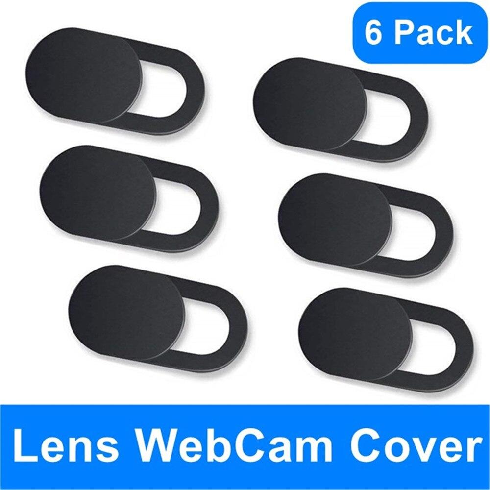 Webcam capa ímã do obturador slider universal câmera antiespião capa para web portátil ipad pc macbook tablet lentes privacidade adesivo