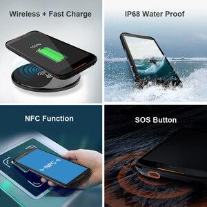 Image 3 - הגלובלי גרסה HOMTOM HT80 NFC פונקציה IP68 Waterproof Smartphone אנדרואיד 10.0 5.5 אינץ אלחוטי תשלום SOS נייד טלפון new2019