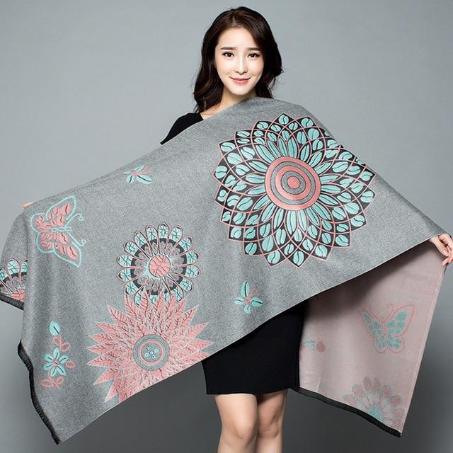 2019-New-Shawl-Women-s-Thickening-Warm-Pashmina-Cashmere-Scarf-Autumn-winter-Oversize-Soft-scarf-Shawl (5)