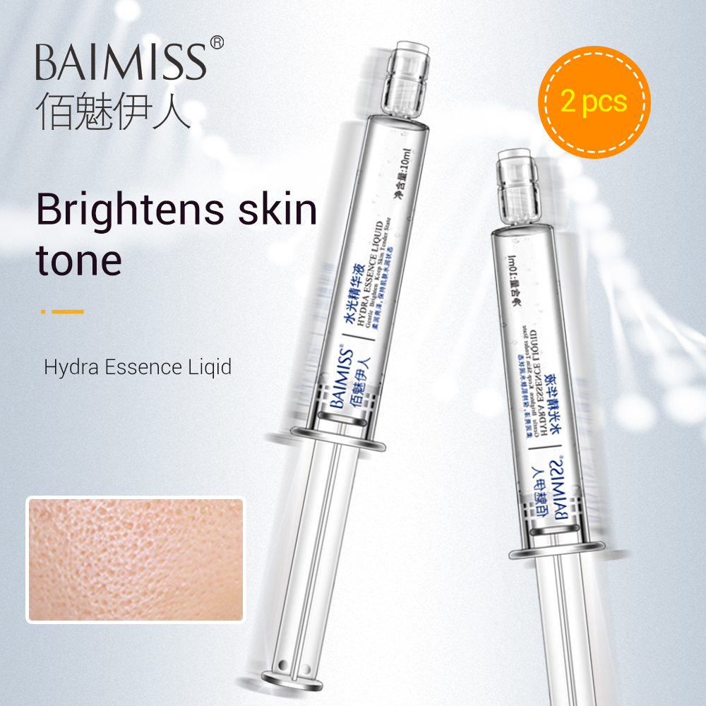 BAIMISS Apple Stem Cells Hyaluronic Acid Serum Mask Treatment Face Cream Skin Care Moisturizing Anti Winkles Whitening 2 Bottle