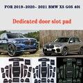 Anti-Slip Tor Slot Tasse Matte für BMW X5 2019- 2021 G05 40i Tür Nut Nicht-slip pad Zubehör Auto aufkleber