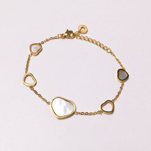 CIBO Europe and the United States sell like hot cakes exquisite high-end mind Bai Bei bracelet hollow out at ease irregular tita