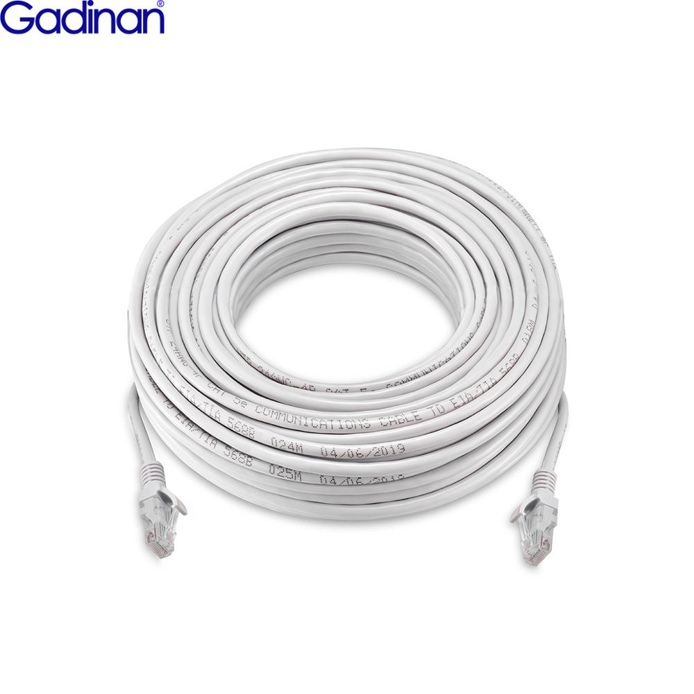 Gadinan CAT5 Cat5e 50M/30M/20M/10M Ethernet Network Cable RJ45 Line Internet LAN Cord For IP PoE Security Camera System Kit