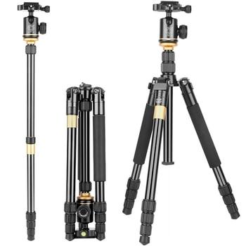Professional Camera Tripod Multifunctional Portable Travel Photography Aluminium Alloy Tripod & Monopod Stand For DSLR Camera