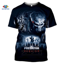 SONSPEE The Predator T Shirt Fashion Men Women Sweatshirt 3D Print Movie Hip Hop streetwear Unisex Tops O Neck Harajuku Pullover
