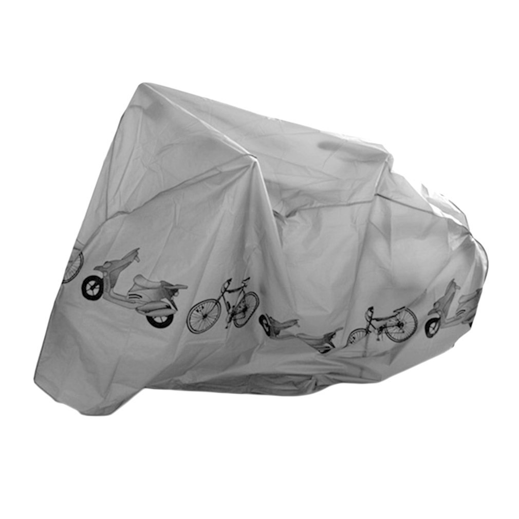 Universal Bike Motorcycle Rain Dust Cover Waterproof Dust UV Proof Bicycle Motorcycle Cover Bicycle Protective Gear 210x100cm