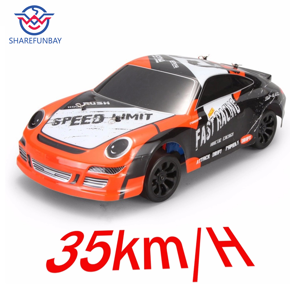 Wltoys A252 1:24 electric 4x4 drive remote control car 2.4G racing planning desert off-road drift car speed 35km alloy material