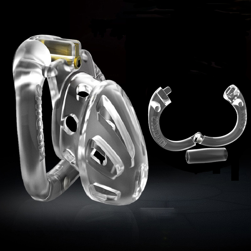 Male Small Large Plastic Open Long Short Chastity Cage Device Penis Ring Lock Bondage Restraint Sex Toys For Man