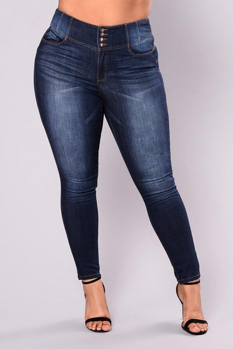 High Waist Calca Jeans Plus Size 5XL Women Slim Long Jeans Fat Mom Sexy Ripped Denim Jeans Pants Push Up Jeans Boyfriend Jeans