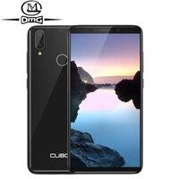 Cubot J7 5.7 18:9 mobile phone android 9.0 2GB 16GB MT6580 Quad Core Fingerprint Face ID 3G smartphone Dual sim Camera Unlock