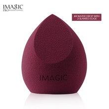 Imagic maquiagem esponja profissional sopro cosmético para fundação corretivo creme beleza compõem esponja de água macia atacado
