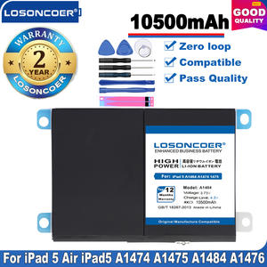 Tablet Battery A1474 iPad5 A1823 Replacement 10500mah for 5-air-air-1/iPad5/A1474/..