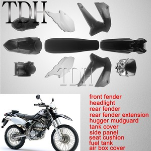 Panneau de cadre pour Kawasaki KLX250 d-tracker X 250 KLX 250 S/SF 2008-2019 Kit complet de carpette de Motocross