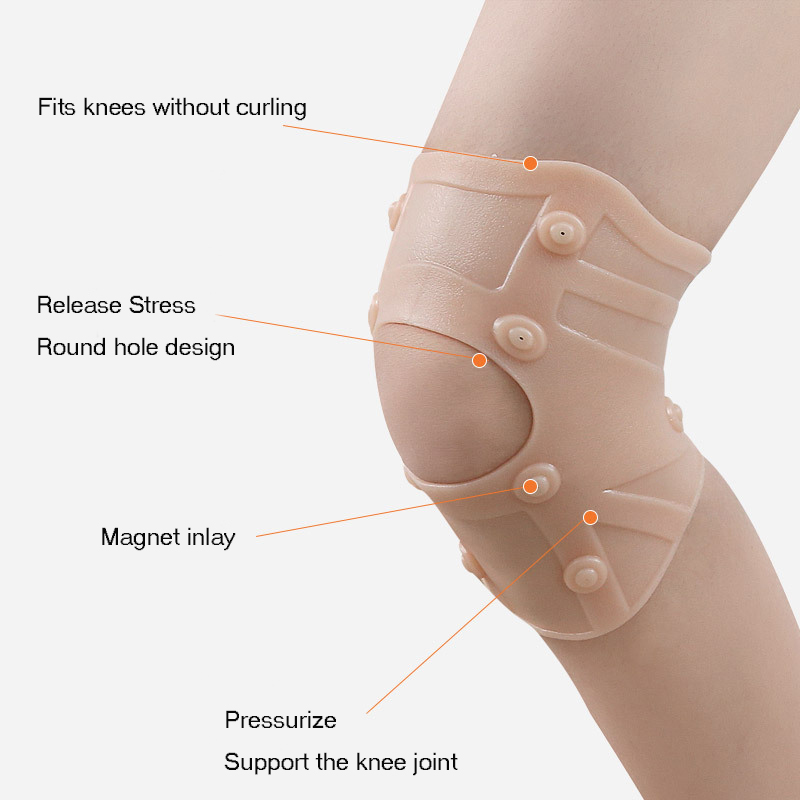 Silicone Ultra Thin Waterproof Knee Pad