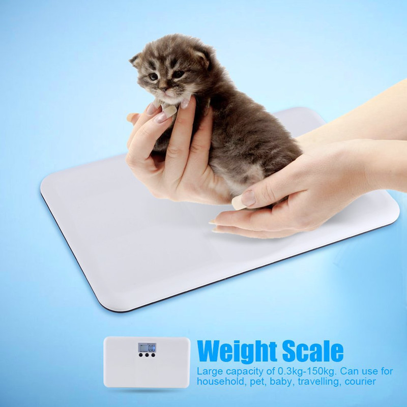 Top Quality LCD Digital Electronic Baby electronic scale portable plastic anti-fall baby pet weight scale 0.3kg-150kg Digital