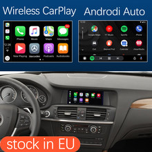 Draadloze Apple Carplay Android Auto Interface Voor Bmw X3 F25 X4 F26 2011-2016, met Mirrorlink Airplay Camera Auto Play Functie(China)
