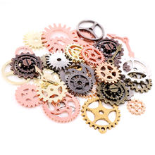 50 шт 8 цветов модный размер смешанный сплав механические шестерни