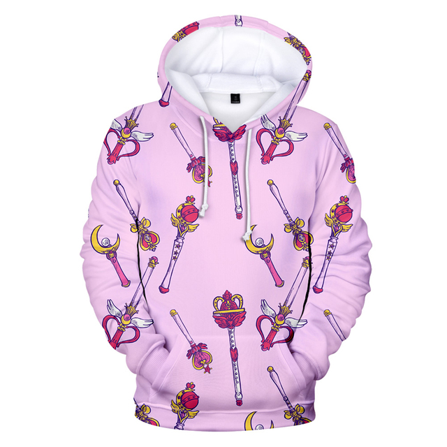 SAILOR MOON THEMED 3D HOODIE (12 VARIAN)