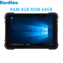 Hardtou 8 polegada windows 10 casa áspera tablet pc ram 4gb rom 64gb computador industrial lt86