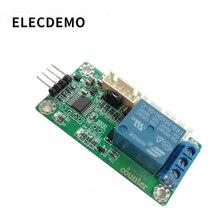 Módulo de contagem do sensor fotoelétrico/hall interruptor sensor de contagem de sinal de pulso conversor de frequência porta serial