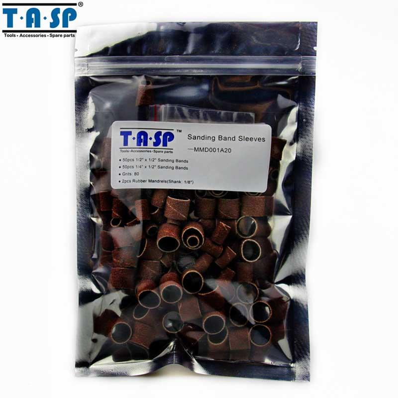 102pcs manches de bande de ponçage et kit de tambour mandrins de 3,2 - Outils abrasifs - Photo 6