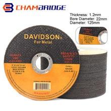 2-60 pces 125mm metal discos de corte de aço inoxidável 5in cortar roda flap lixar moagem disco ângulo moedor ferramentas acessórios