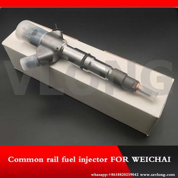Diesel Fuel Injector 0445120150 Original Adapte Injector 0 445 120 150 Type 0445 120 150 for WEICHAI WP6 6.2L 170KW