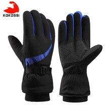 Snowboard Gloves Motorcycle Riding Ski Waterproof Winter Women Kokossi And