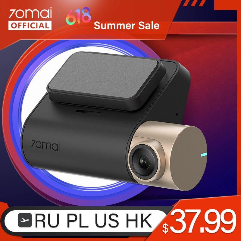 International 70mai Car DVR 1080P HD Smart Dash board 70mai Lite Camera APP Control Driving Recorder 130 FOV GPS Speed Dash Cam|DVR/Dash Camera|   - AliExpress
