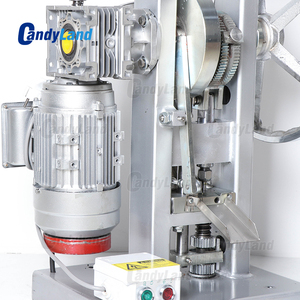 Image 2 - كاندلاند THDP 5 الكهربائية قرص فوار آلة الضغط المنزلية الحلوى السكر صانع واحد لكمة ماكينة صنع الماسات