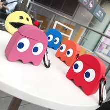 Dinosaur Earphone Case for Airpods 2 Case Cute Fish Cover for Apple Air pods Case Silicone Sun flowe