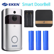 EKEN V5 Smart WiFi Video Doorbell Camera Visual Intercom with Chime Night vision