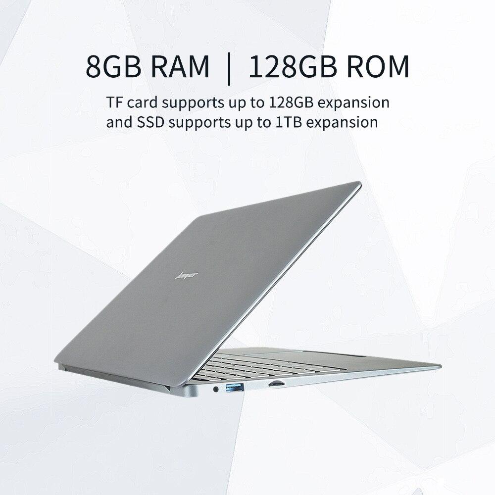 NEW Jumper EZbook X3 Notebook 8GB 128GB 13.3 inch 1920*1080 IPS Screen Intel N3450  Ultra  Slim laptop Win10  2.4G/5G WiFi-1