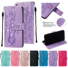 Flip Wallet Leather Phone Cases For LG Stylo 4 5 Stylus 4 Q stylus K8 LV3 2018 K40 K12 Plus Aristo 2 2 Plus Jewelled Cover Coque