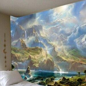 Красивая Масляная Живопись Море облаков гобелен настенный гобелен спальня Красочные гобелены 150х10 0 см/150х13 0 см/200х150см