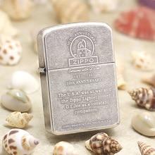 Genuine Zippo oil lighter copper windproof History of 1941 cigarette Kerosene