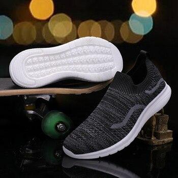 Women Tennis Shoes Tenis Feminino ladies sock walking Sport Shoes flat Sneakers student chaussures femme zapatos de mujer 3