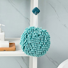 Hand-Towel Kitchen Plush-Hanging Washroom Water-Absorption Practical Home-Ball Thickened