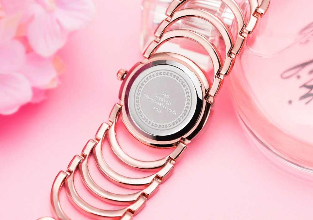 Relojes marque de luxe G & D argent doré femmes montre-bracelet à Quartz nouvelle mode décontracté cristal dames montres Relogio Feminino