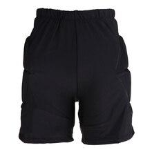 ป้องกันสะโพกเบาะฮอกกี้กางเกงเกียร์ป้องกันความต้านทาน Breathable สำหรับ KID Hip BUTT