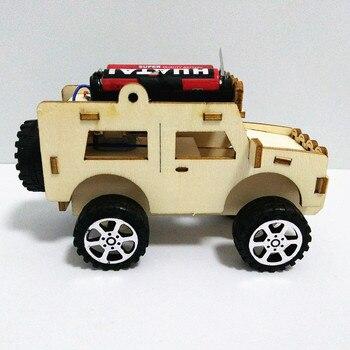 Mobil Kayu Listrik Rakit  4