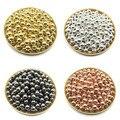 Оптовая продажа 3 4681012 мм 30-500 шт. цвета: золотистый/пистолет-кабель покрытый металлом со браслетов, ожерелий, диаметр-круглый круглые проклад...