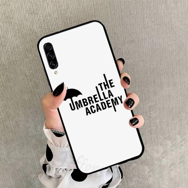 THE UMBRELLA ACADEMY THEMED SAMSUNG PHONE CASE (12 VARIAN)