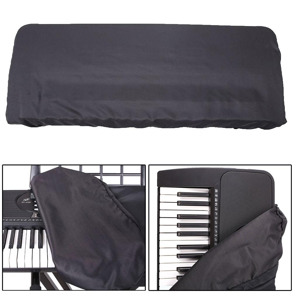 61/88 Key Electric Piano Keyboard Dustproof Waterproof Drawstring Protect Cover Stretchable Elastic Fabric Synthesizer Cover