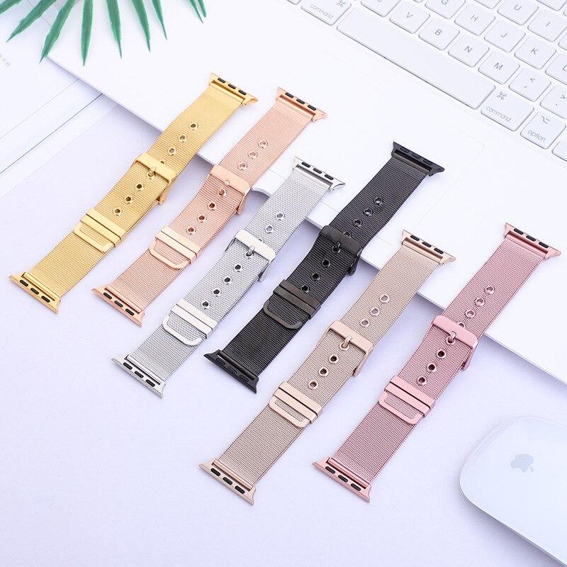 For Apple APPLE Watch Stainless Steel Watch Band Milan Nice, Nizza Watch Accessories Apple Weaving Watch Strap