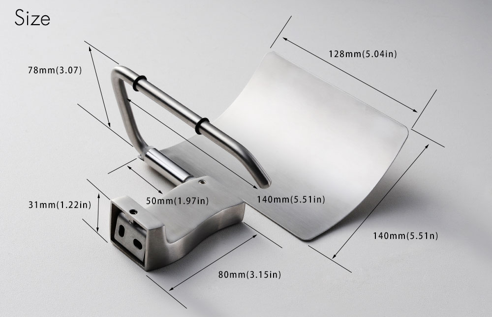 Hc96291c1c93840429d3f14561cd66734x - Tutima Brushed Toilet Paper Holder Toilet Roll Holder Wall Mounted Bathroom Paper Holder Bathroom Accessories Paper Shelf