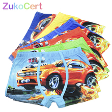 5 Pcs lot Cartoon Car Kids Boy Underwear For Baby Children s Boxer Underpants Briefs Boys